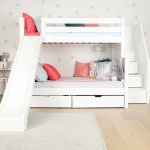 White Bunk Beds For Kids Winter White Looks Maxtrix Kids
