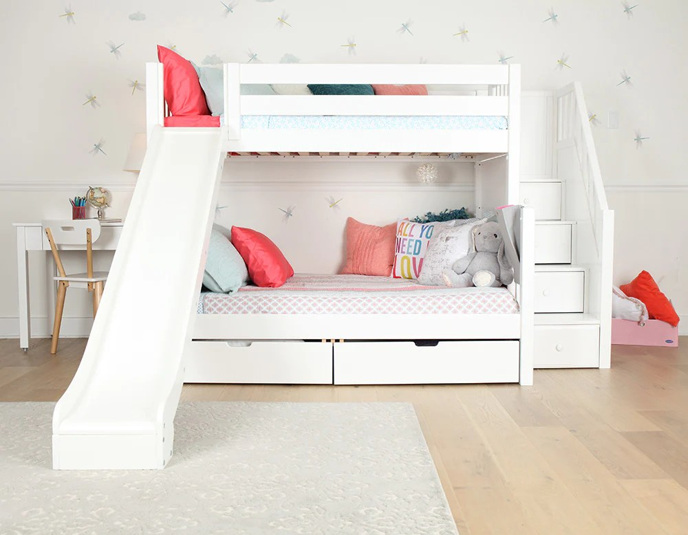 Kids Bunk Beds With Stairs And Slide   Joeryo ideas