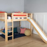 Boys Medium Loft Bed With Slide The Perfect Design For Older Kids Maxtrix Kids