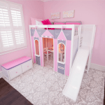 Princess Rooms Princess Beds And Bed With Slide Maxtrix Kids