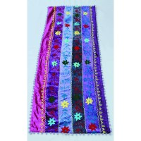Caravan Table Runner, Purple Velvet  Abigails