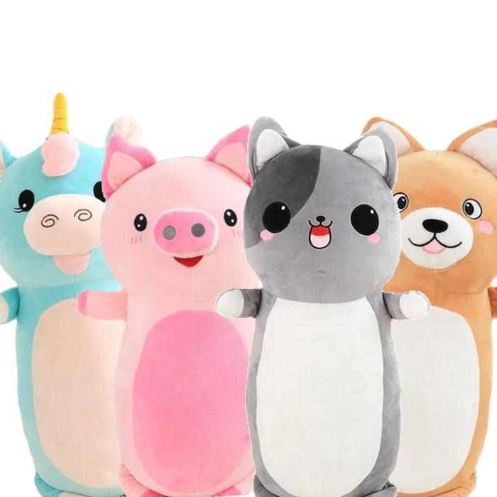 happi stuffed animal plush body pillows
