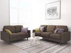 cheap 2 piece living room sets wooden showcases for designer furniture elroy matte velvet fabric set