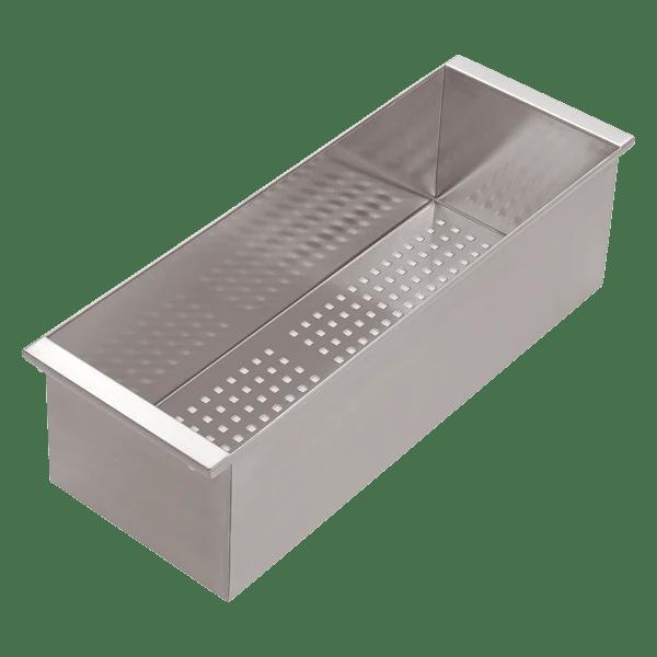 abey 1vof sink accessories stainless steel colander 8appliances