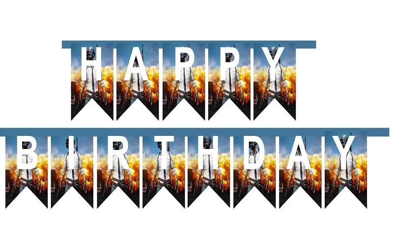 pubg happy birthday party
