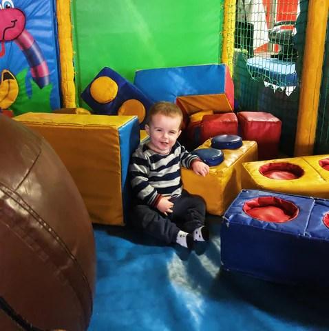 Soft play at Diggerland