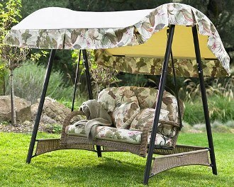 walmart palm valley ii patio swing products
