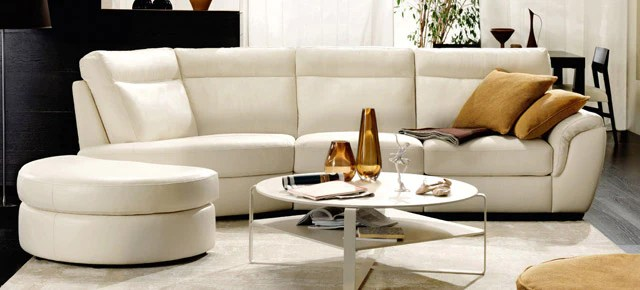 cult sectional leather sofa by natuzzi italia table benches coco, cult, domino - hauser stores