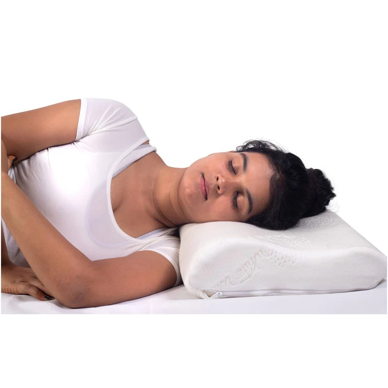 neck support cervical pillow and bed wedge pillow back support combo medansh com