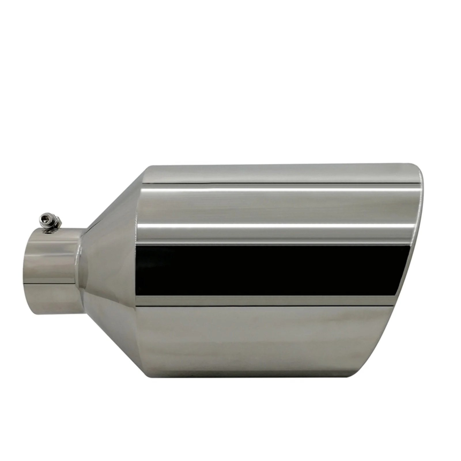 small resolution of inlet diameter stainless steel exhaust pipe trim car tip tail muffler tail throat for universal auto