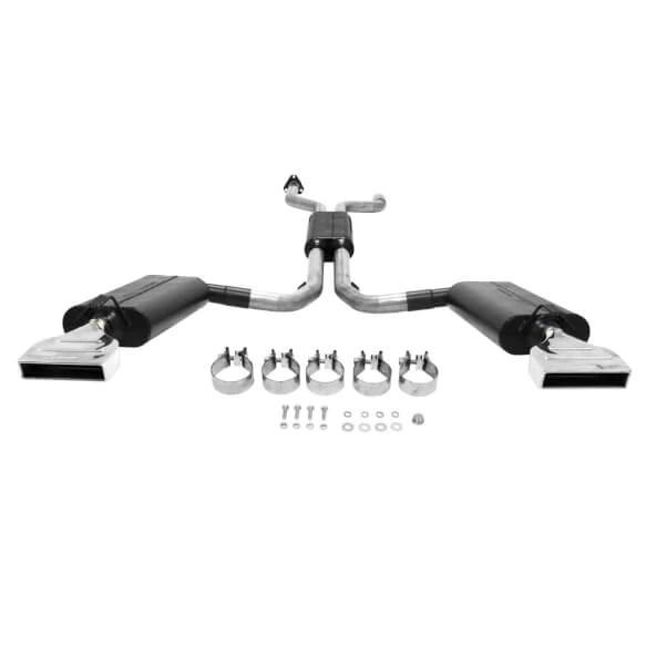 flowmaster exhaust corvette c4 v8 5 7l catback force ii 1992 1996 817670