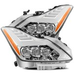 Alpharex Quad 3d Led Projector Headlights Infiniti G37 Coupe Nova Ser Redline360
