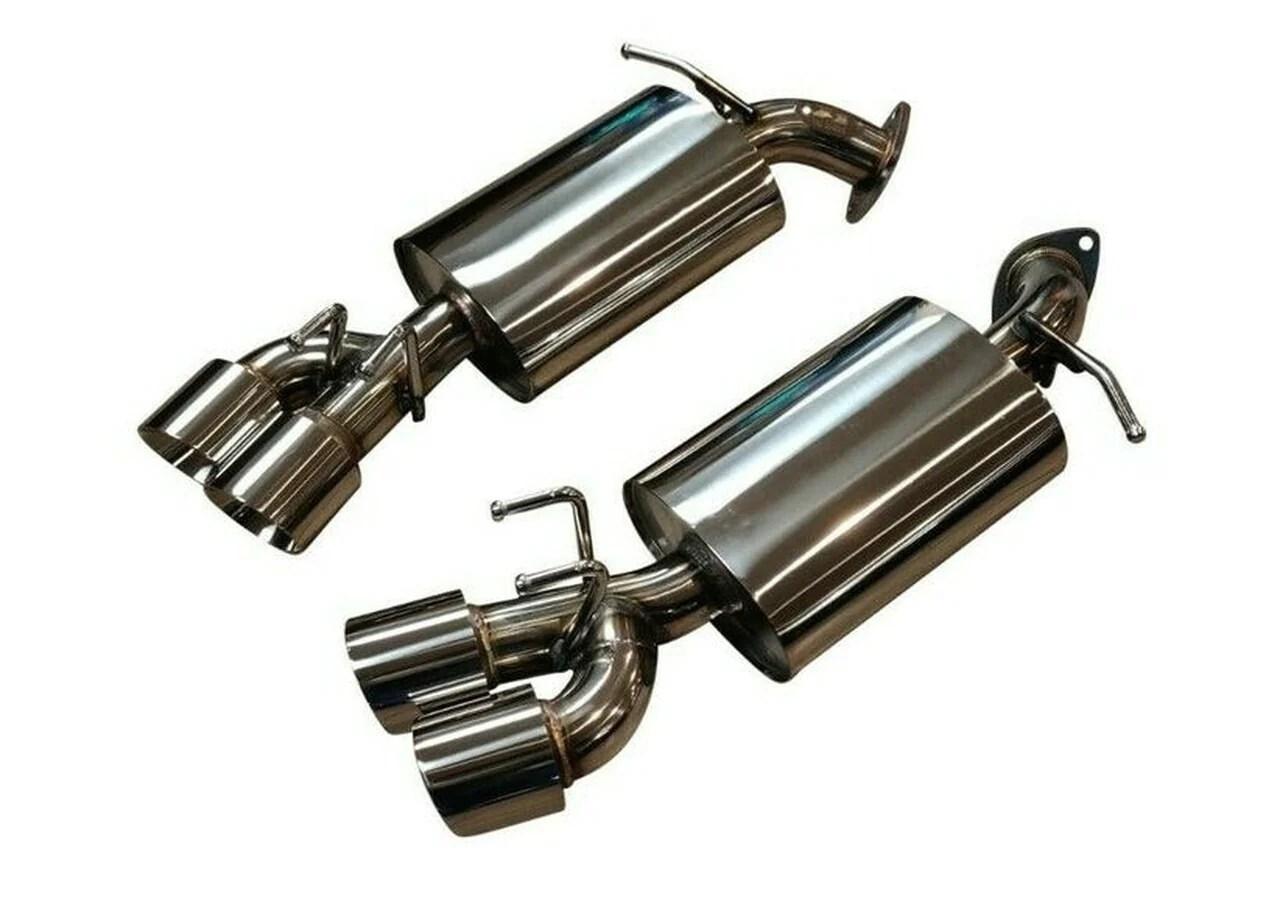 top speed pro 1 exhaust toyota camry 2018 2021 muffler delete or high flow mufflers