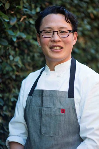 Le Bon Garcon Chef and caramel expert, Justin Chao