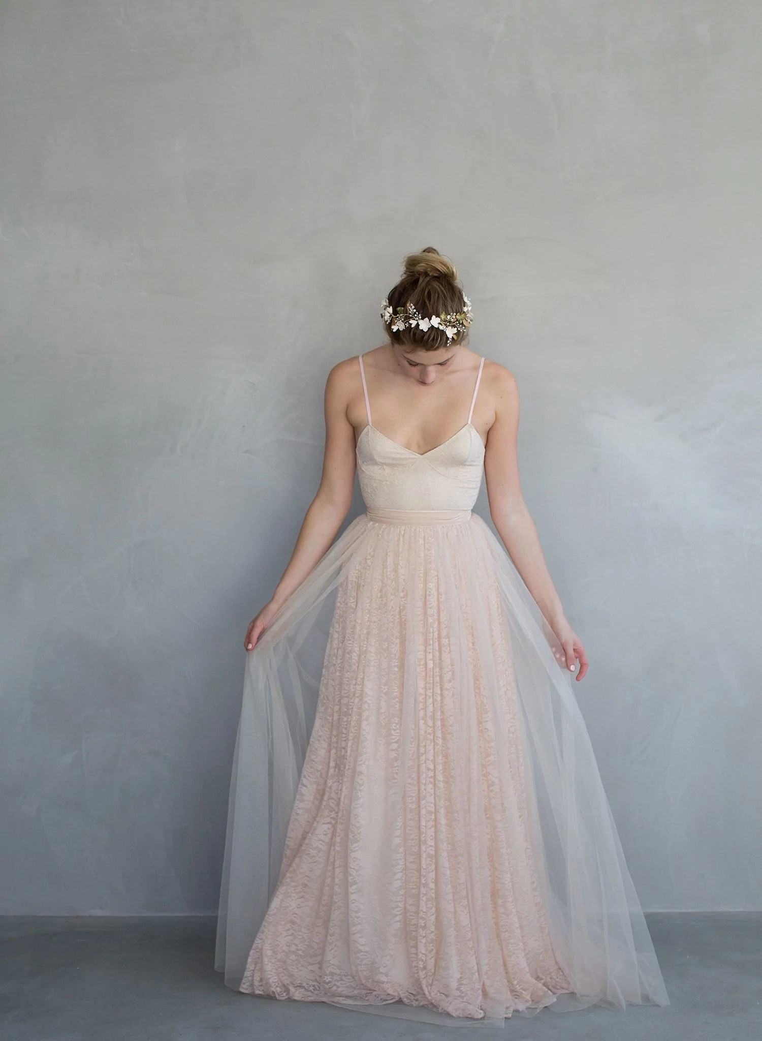 Cupcake  Lace and tulle overlay ballerina inspired skirt