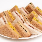 Vegan Catering In Warwickshire Sandwich Platter Curried Chickpea Not Turkey Stuffing Cranberry The Vegan Buffet Company