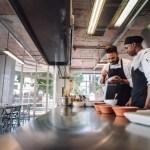 Professional Chefs Working At Restaurant Kitchen Jacob Lund Photography Store Premium Stock Photo