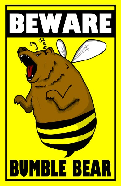 Cyanide Amp Happiness Bumble Bear Poster The Cyanide Amp Happiness Store