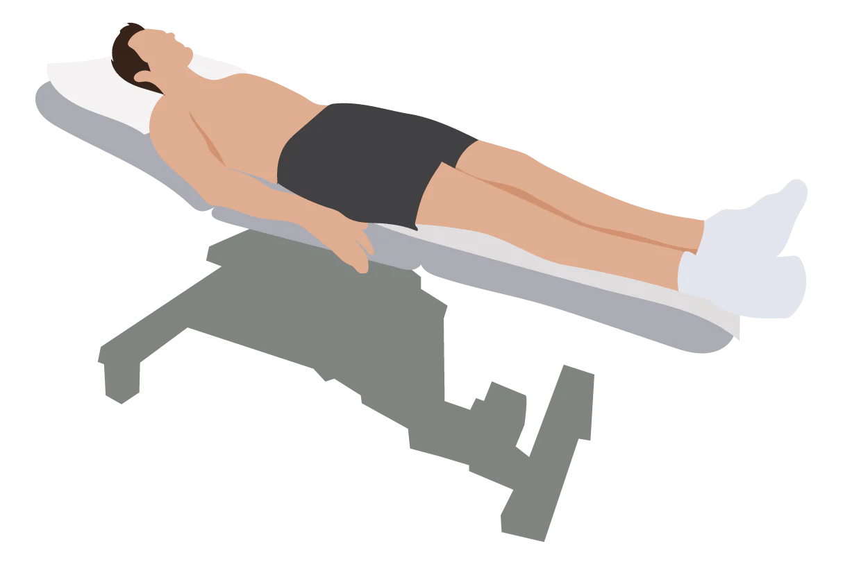 medium resolution of patient positioning for 12 lead ecg placement