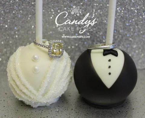 Wedding Cake Pops Candys Cake Pops