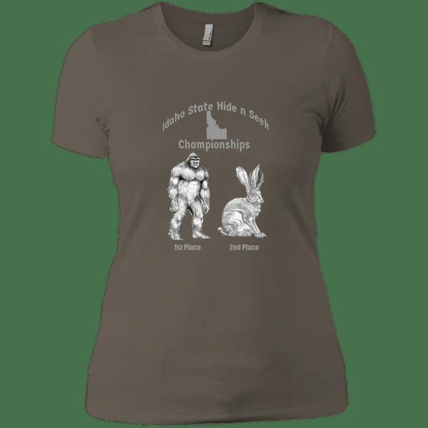 Idaho Hide And Seek Championships Ladies Boyfriend T Shirt