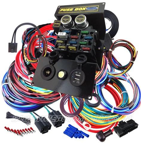 bluewire automotive  hotrod roadtrain 12circuit full wire