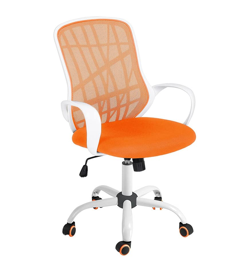 Orange Office Chairs Furniture R Office Chair Desert Orange New In Box