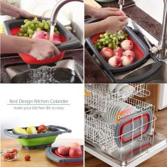 Kitchen Colander How To Design A Island Collapsible Odds And Ends