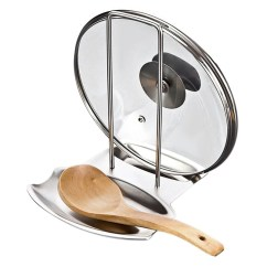 Kitchen Spoon Rest Custom Made Islands Cooking Tools Pot Cover Holder Stand Fobglobal Hover To Zoom