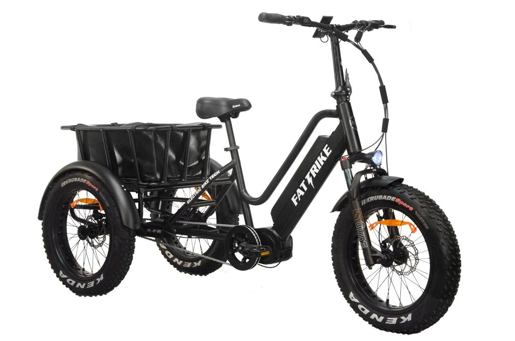 Mid-Drive Electric Fat Trike - ElectricBikeStore.com