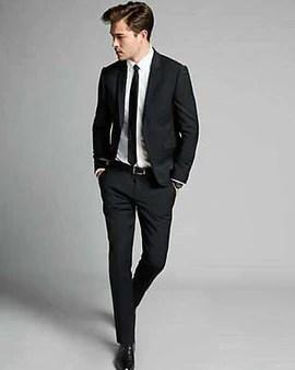buy black men suits