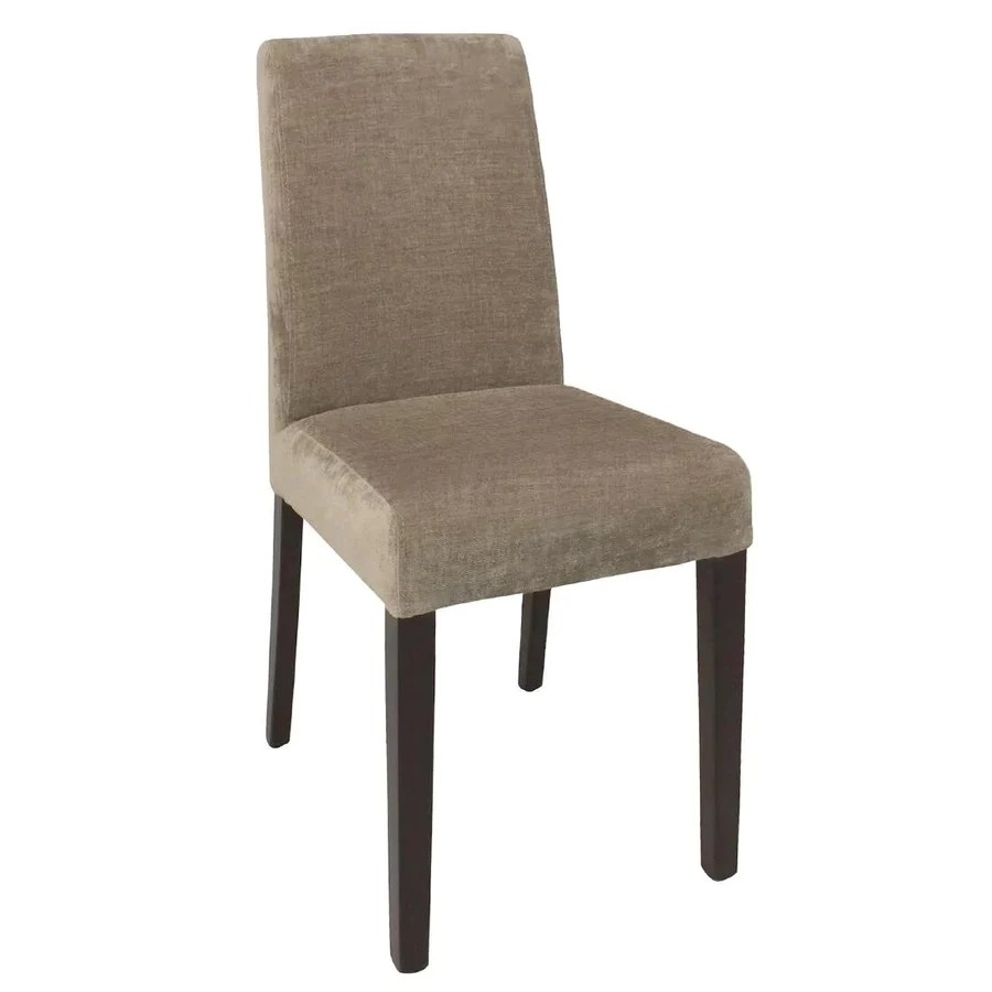 chaises salle a manger tissu beige bolero lot de 2