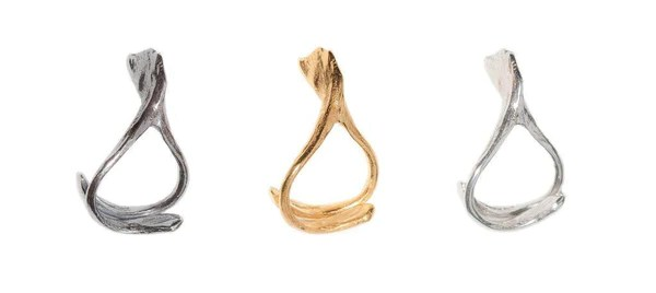 The Wishbone Stacking Rings  Claire English  Special