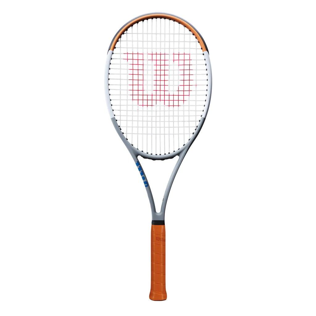 Buy Blade 98 (16x19) V7 Roland Garros Edition Tennis Racket Frame by Wilson online - Wilson Australia