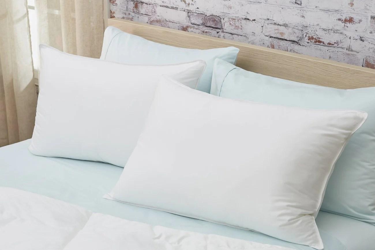 sateen down alternative pillow