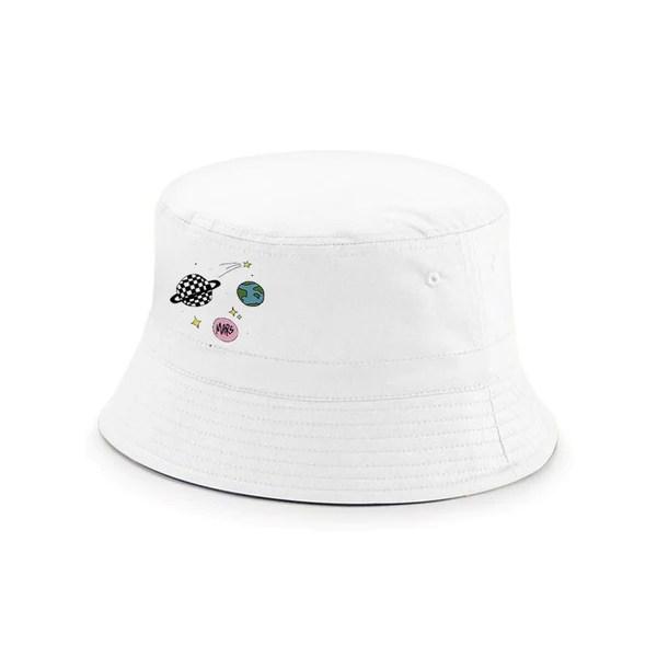 mars galaxy bucket hat