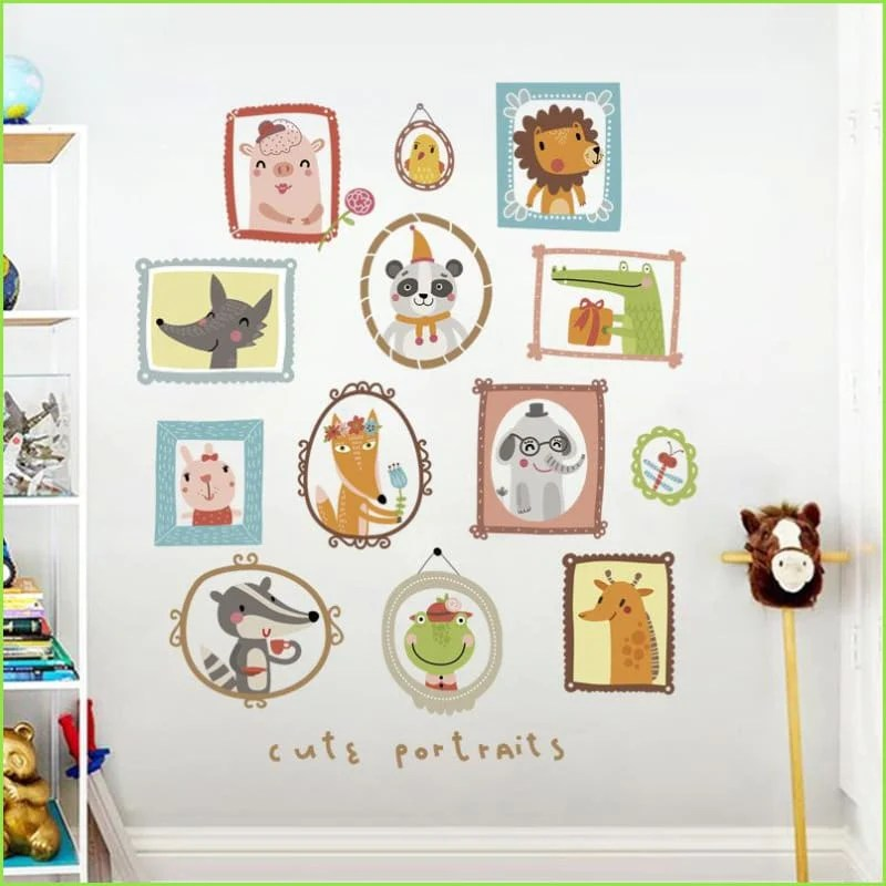 frames wall stickers decals