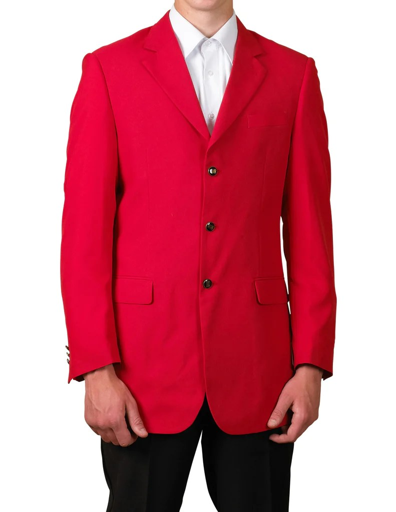 men s red single