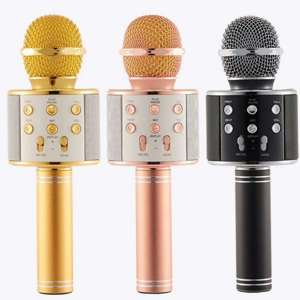 Wireless Magic Karaoke Microphone – Bluetooth Karaoke Microphone