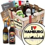 I Love Hamburg 9 Biersorten Bier Deutschlandreise Probierpaket Monatsgeschenke De