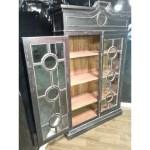 Steven Shell Burlington Display Cabinet Bookcase Black