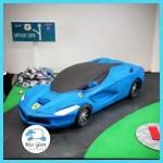 Ferrari Cake Blue Sheep Bake Shop
