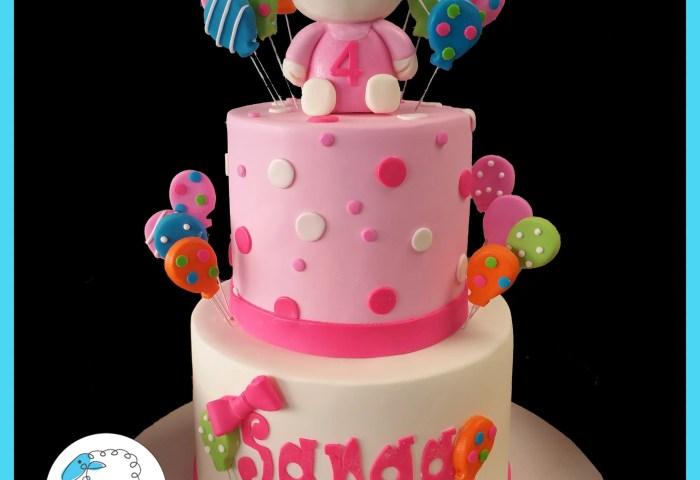 Hello Kitty Birthday Cake Blue Sheep Bake Shop