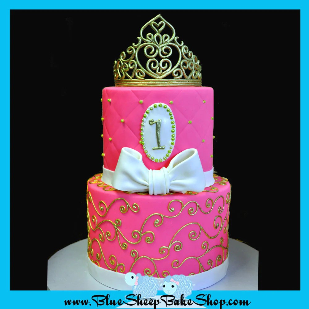 Quilted Cupcake Cake