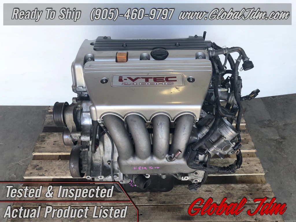 medium resolution of jdm honda acura k24a type s engine 2 4l dohc i vtec motor rbb head acc global jdm auto parts inc