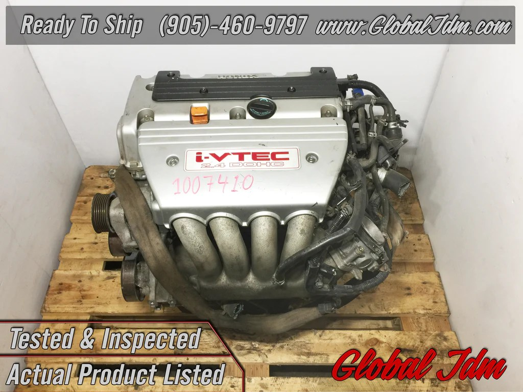 small resolution of jdm honda acura k24a type s engine 2 4l dohc i vtec motor rbb head acc global jdm auto parts inc