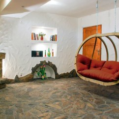 Hanging Chair In Living Room Buttoned Leather How To Mount Your Simply Hammocks And Chairs Don T Have Be Enjoyed Just Outside Why Not Bring Them Into The Warmth Of Own Home So You Can Swing Away