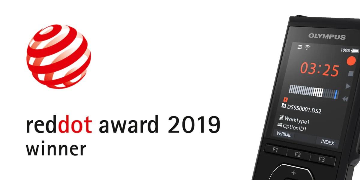 Olympus DS-9500 Winner of the Red Dot Design Awards 2019– Speak-IT Solutions LTD