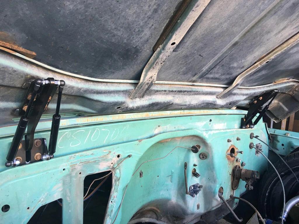 medium resolution of switch suspension hood hinges 67 72 c10