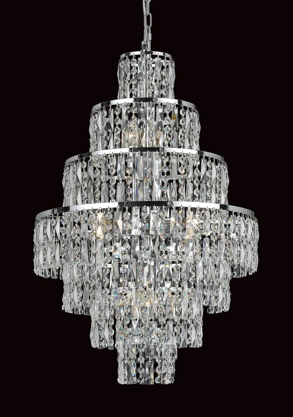 crystal chandelier tiered # 78